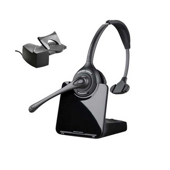 Plantronics CS510 Monaural Over-the-head Wireless Headset with Handset Lifter