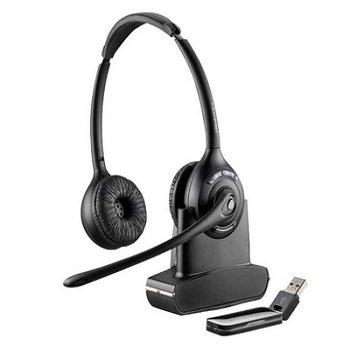 Plantronics Savi W420 Binaural Wireless UC Headset