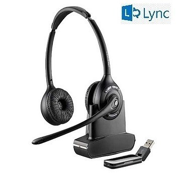 Plantronics Savi W420-M Binaural Wireless UC Headset - Microsoft Lync
