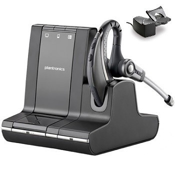 Plantronics Savi W730 Over-the-ear Wireless Headset with Handset Lifter