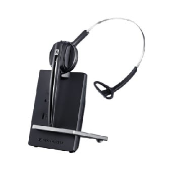 Sennheiser D10 Wireless DECT Headset with Base Station - Softphone only