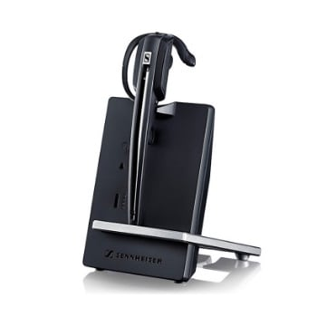 Sennheiser D10 Wireless DECT Headset with Base Station & HSL10 Lifter