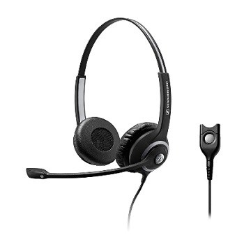 Sennheiser SC 260 Binaural Wideband Headset with Noise-Cancelling Mic
